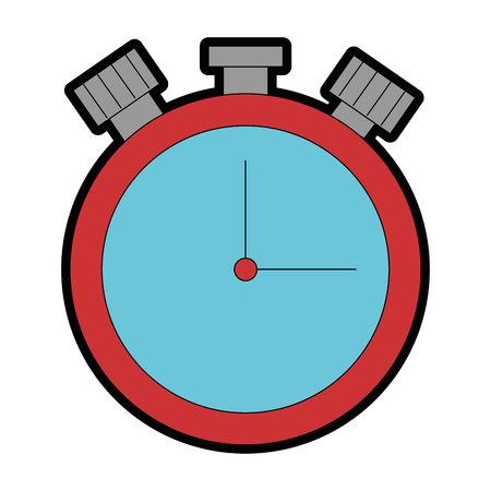chronometer time clock isolated icon vector illustration design Stok Fotoğraf - 95055471