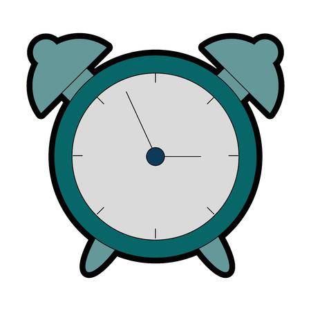 alarm time clock isolated icon vector illustration design 版權商用圖片 - 95056048