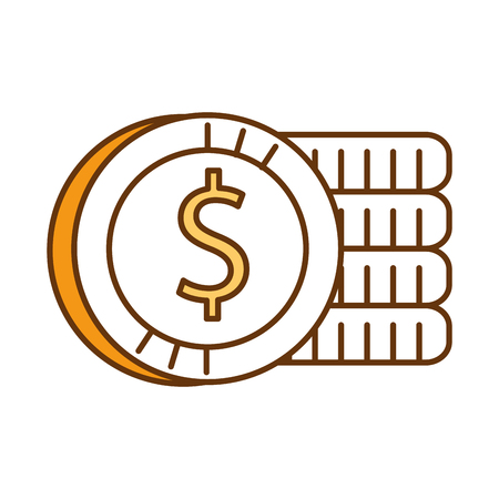 coin money isolated icon vector illustration design 写真素材 - 95060571