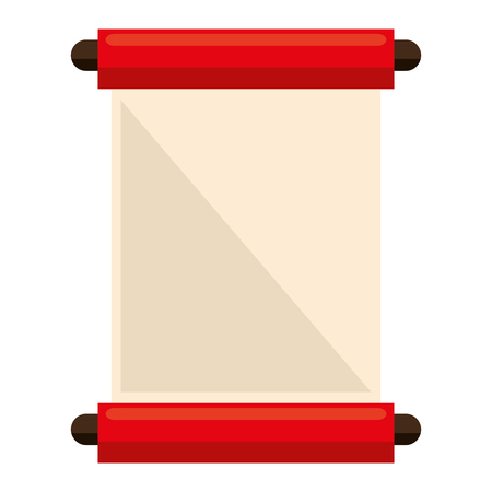 chinese papyrus isolated icon vector illustration design