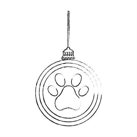 Ornement chinois accroché avec l & # 39 ; empreinte illustration vectorielle conception Banque d'images - 95301427