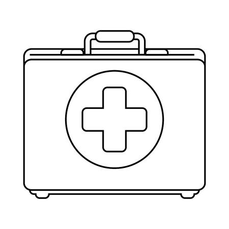 Medical kit isolated icon vector illustration design. Illustration