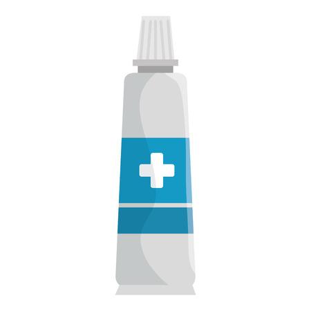 Medical cream isolated icon vector illustration design.