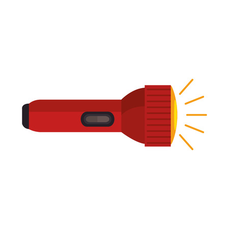 Flash light isolated icon vector illustration design. Stock Illustratie