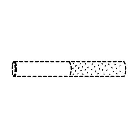 unhealthy bar tobacco cigarette addiction vector illustration sticker design