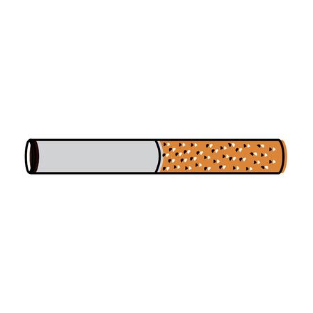 unhealthy bar tobacco cigarette addiction vector illustration