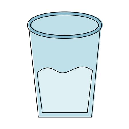 water glass health beverage liquid pure vector illustration  Ilustração