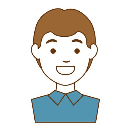 arts avatar karakter vector illustratie ontwerp