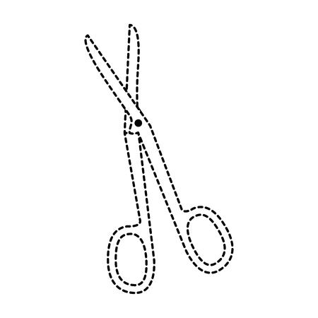 scissor tool isolated icon vector illustration design
