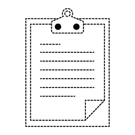 checklist document isolated icon vector illustration design Reklamní fotografie - 95204926