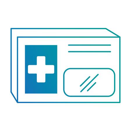 medical box isolated icon vector illustration design