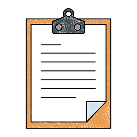 checklist document isolated icon vector illustration design Reklamní fotografie - 95208389