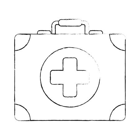 medical kit isolated icon vector illustration design