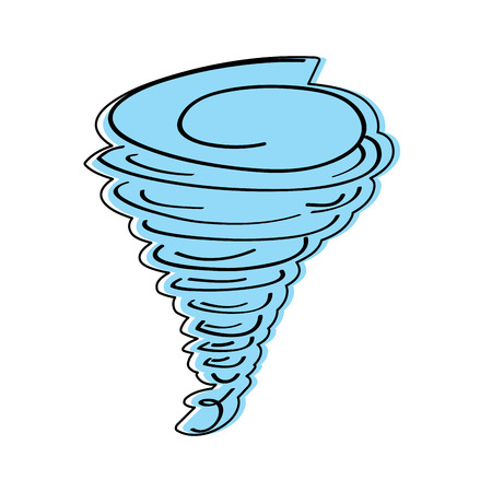 tornado season wind storm weather image vector illustration Illustration