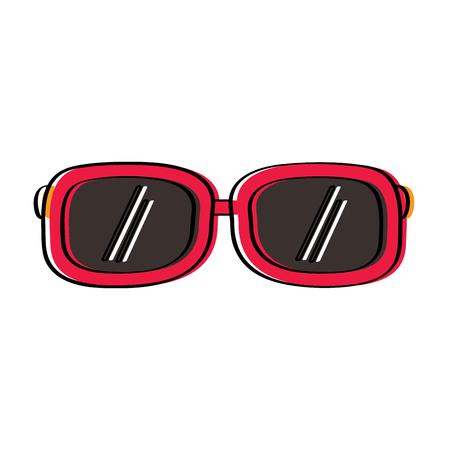sunglasses fashion summer accessory trendy vector illustration Illustration