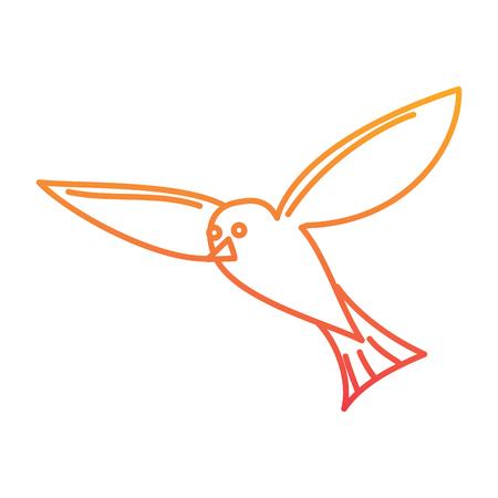 비행 갈매기 디자인