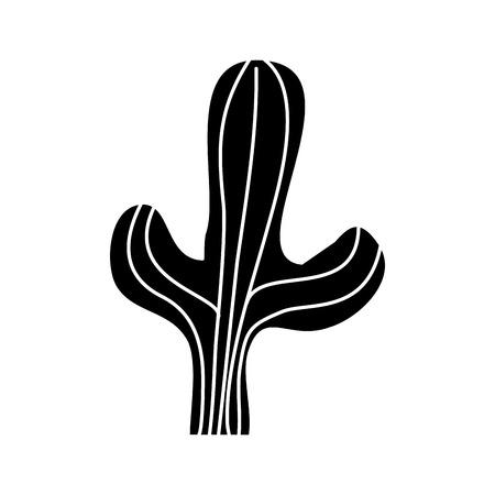 Cactus desert plant design