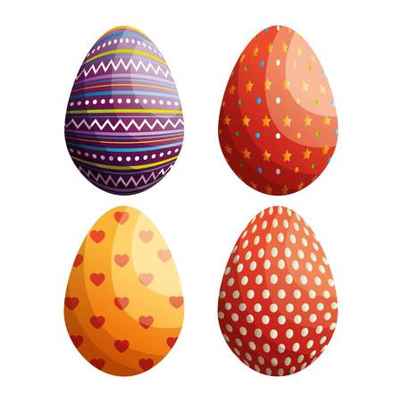 Easter celebration vector illustration design. 일러스트