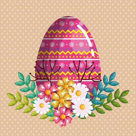 Eggs painted design