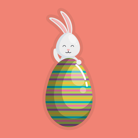 Easter illustration design