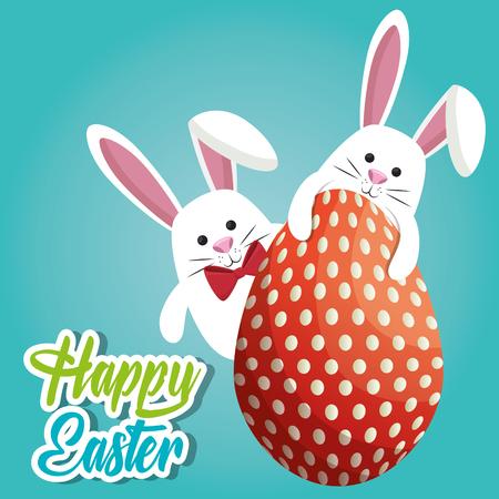 Easter illustration design