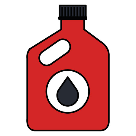 oil car bottle icon vector illustration design