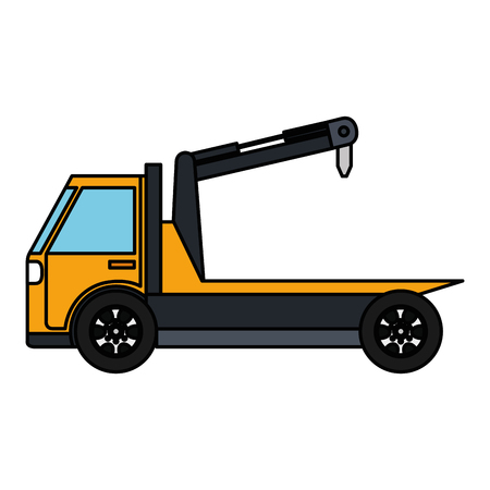 crane truck service icon vector illustration design Иллюстрация
