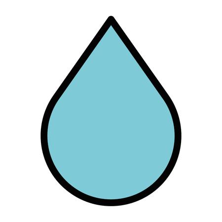 Druppel vloeistof geïsoleerd pictogram vector illustratie ontwerp Stockfoto - 95478518