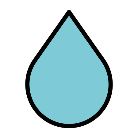 drop liquid isolated icon vector illustration design