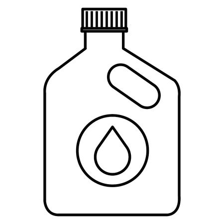 Oil car bottle icon vector illustration design.
