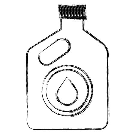 oil car bottle icon vector illustration design Stock Vector - 95478723