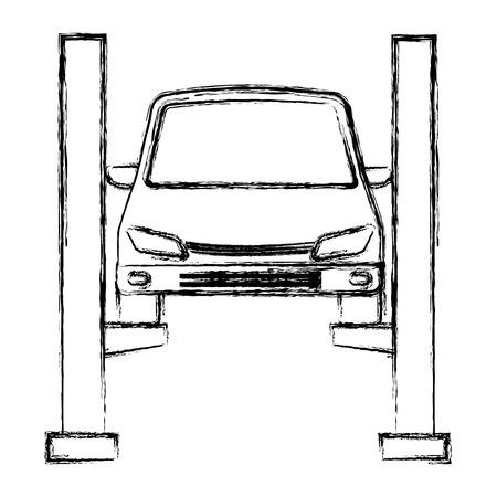 Auto nel design della piattaforma di sincronizzazione
