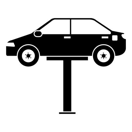 Auto nella piattaforma di sincronizzazione