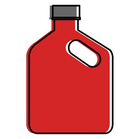 oil car bottle icon vector illustration design Stock Vector - 95370658
