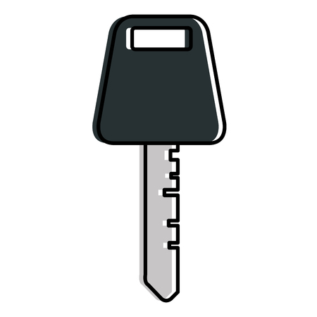 Car key isolated icon vector illustration design Çizim