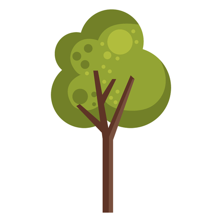 tree plant isolated icon vector illustration design  イラスト・ベクター素材