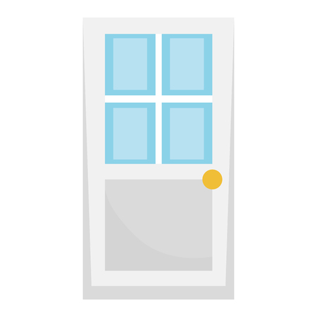 house door isolated icon vector illustration design Иллюстрация