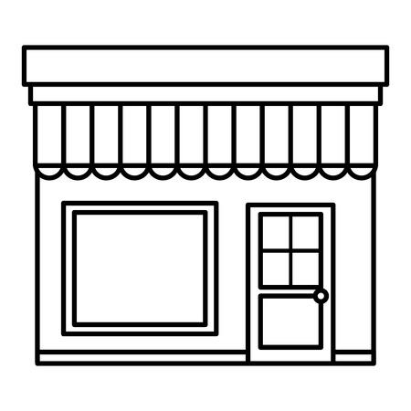 store building front icon vector illustration design Archivio Fotografico - 95412864