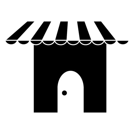 store building front icon vector illustration design Archivio Fotografico - 95422862