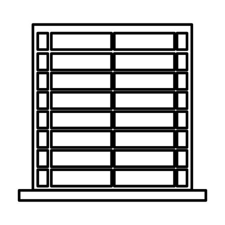 window blind isolated icon vector illustration design