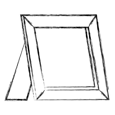 Icône isolé en bois portrait vector illustration design Banque d'images - 95507956