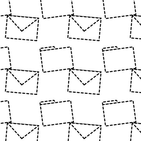 message envelope file folder icon image vector llustration design  Illustration