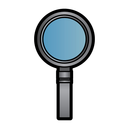 magnifying glass icon image vector llustration design