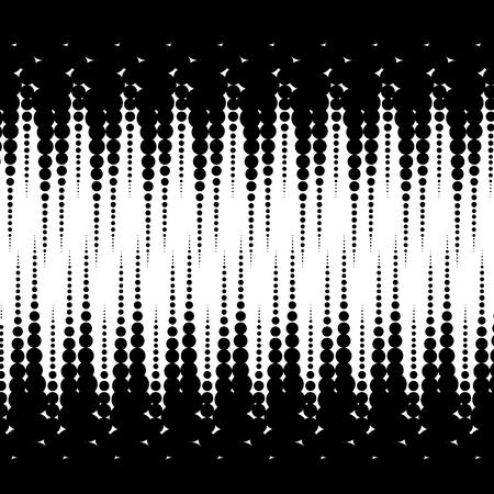 monochrome geometric pattern background vector illustration design Illustration