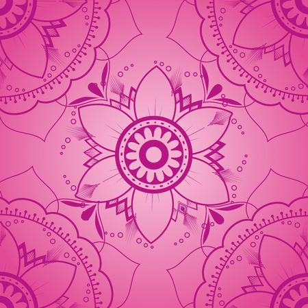 Color mandala pattern background vector illustration design Stock fotó - 95540260