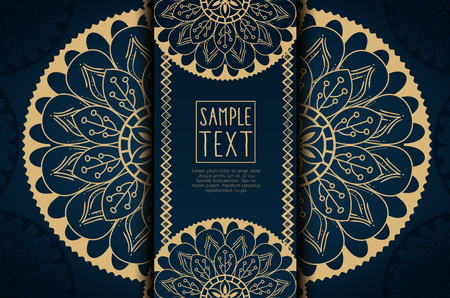 Golden mandala decorative icon vector illustration design 向量圖像
