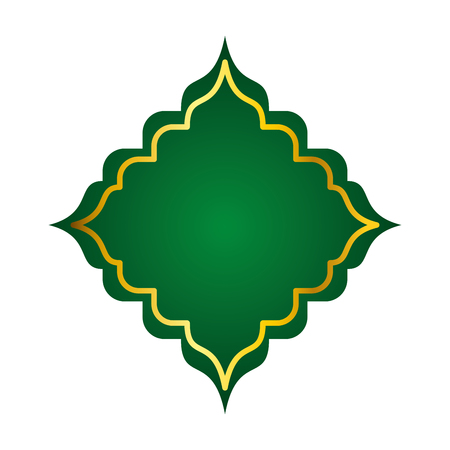 rhombus frame decorative icon vector illustration design 일러스트