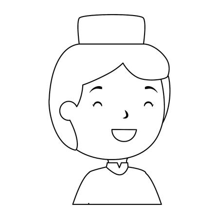 모자 아바타 캐릭터 벡터 일러스트 레이 션 디자인 이슬람 소년 스톡 콘텐츠 - 95586024