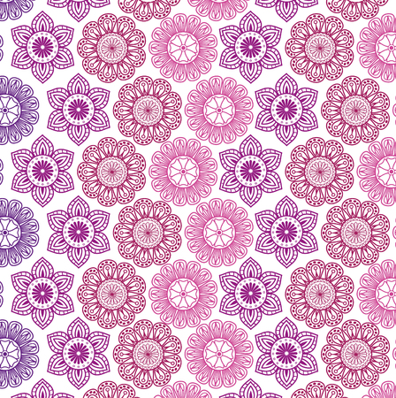 color mandala pattern background vector illustration design