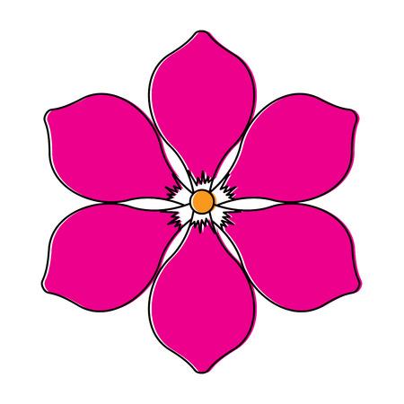 Frangipani 꽃 자연 꽃 장식 장식 벡터 일러스트 레이 션 스톡 콘텐츠 - 95586777
